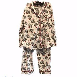 La vie en Rose Fleece women's pajamas size xl
